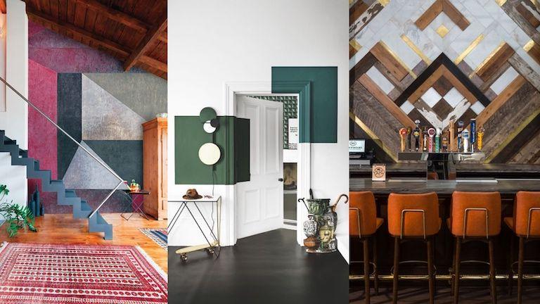 Kép 3: lakberendezés, geometrikus terek, geometria, enteriőr, indusztriális stílus, nőies terek, férfias terek