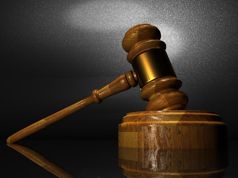 Bírói fa kalapács